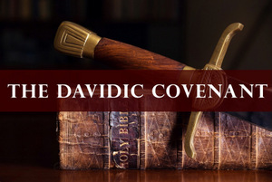THE DAVIDIC COVENANT based upon OLD BIBLE WITH SWORD © Balazs Toth | Dreamstime.com