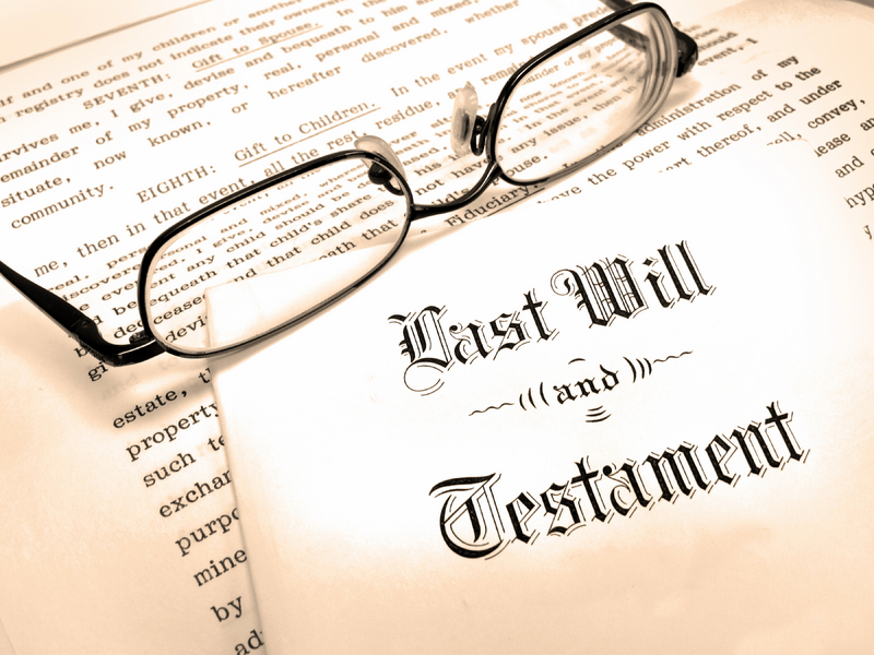 LAST WILL AND TESTAMENT- © Eric1513 | Dreamstime.com