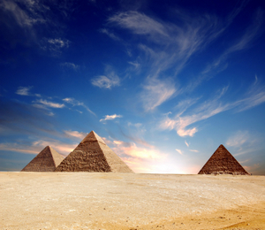 PYRAMIDS OF EGYPT © Roma74 | Dreamstime.com