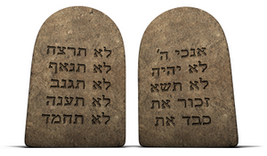 TEN COMMANDMENTS © Jgroup | Dreamstime.com