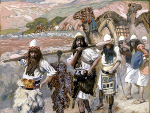 THE GRAPES OF CANAAN- James Tissot c1902