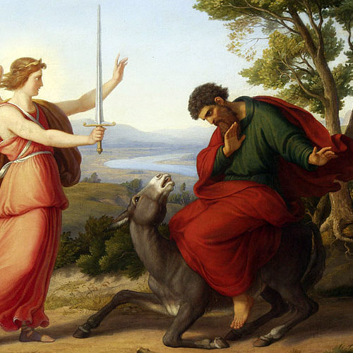 BILEAM UND DER ENGEL (BALAAM AND THE ANGEL)- Gustav Jaeger