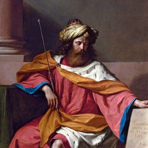 KING DAVID- Giovanni Francesco Barbieri