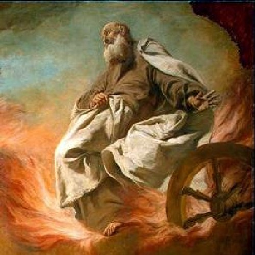 ELIJAH TAKEN UP IN A CHARIOT OF FIRE- Giuseppe Angeli