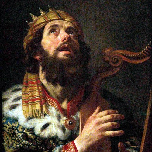 KING DAVID- Gerard van Honthorst