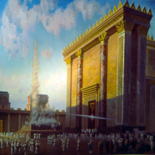 THE GLORY OF THE TEMPLE- unknown artist