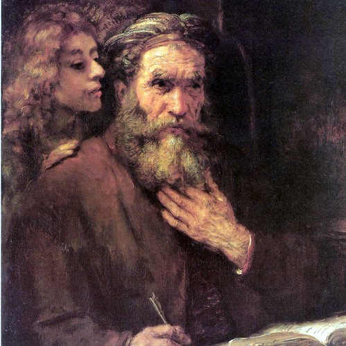 MATTHEW AND THE ANGEL- Rembrandt