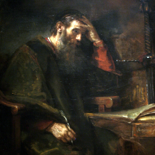 THE APOSTLE PAUL- Rembrandt