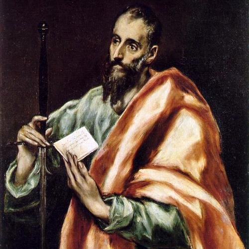 SAINT PAUL- El Greco