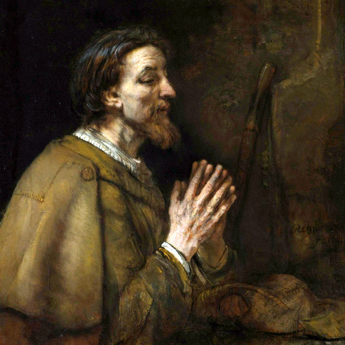 SAINT JAMES THE GREATER- Rembrandt