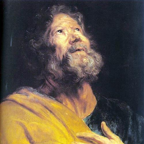 THE PENITENT APOSTLE PETER- Anthony van Dyck