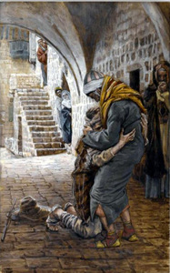 THE RETURN OF THE PRODIGAL SON by James Tissot