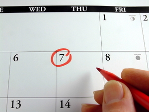 MARKING THE CALENDAR © Mrgreen | Dreamstime.com